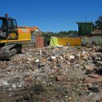excavations, demolitions